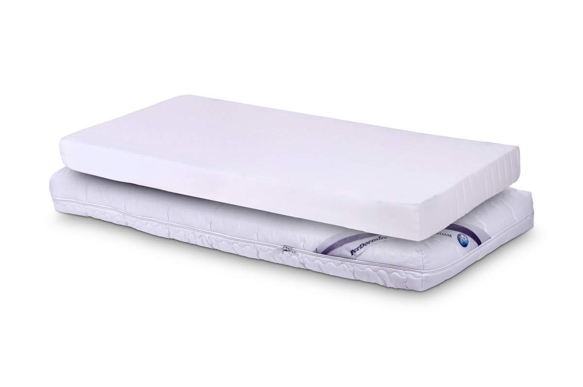 PerDormire BABY WHITE - dětská matrace do postýlky 60 x 120 cm, snímatelný potah