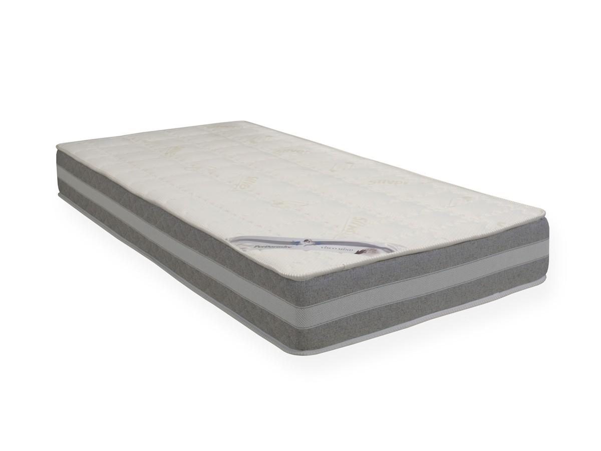 PerDormire SILVER BREEZE - matrace s línou (paměťovou) pěnou 220 x 220 cm, snímatelný potah