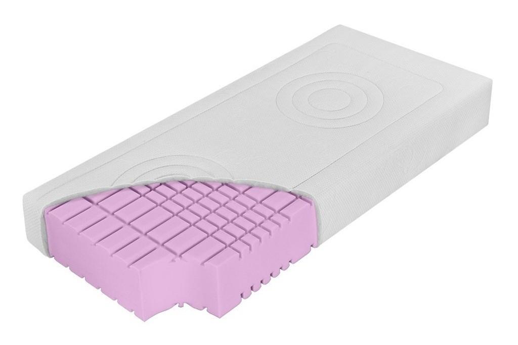 DreamLux PADMÉ - 13 cm matrace ze studené pěny 180 x 220 cm, snímatelný potah