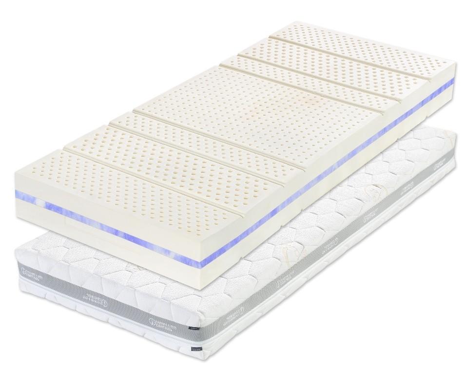 Slumberland LATEX LILA - latexová matrace s gélovou pěnou 120 x 220 cm 1 ks, snímatelný potah