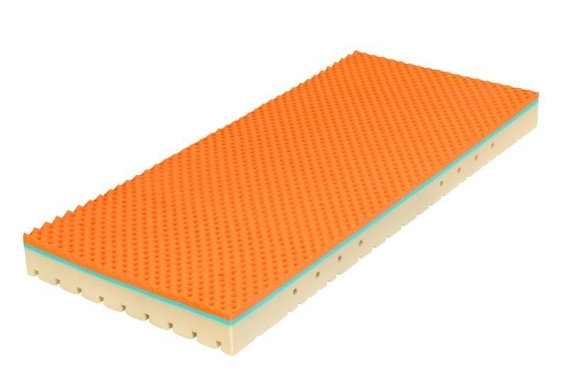 Tropico SUPER FOX VISCO Wellness 22 cm - matrace s línou pěnou 140 x 220 cm, snímatelný potah