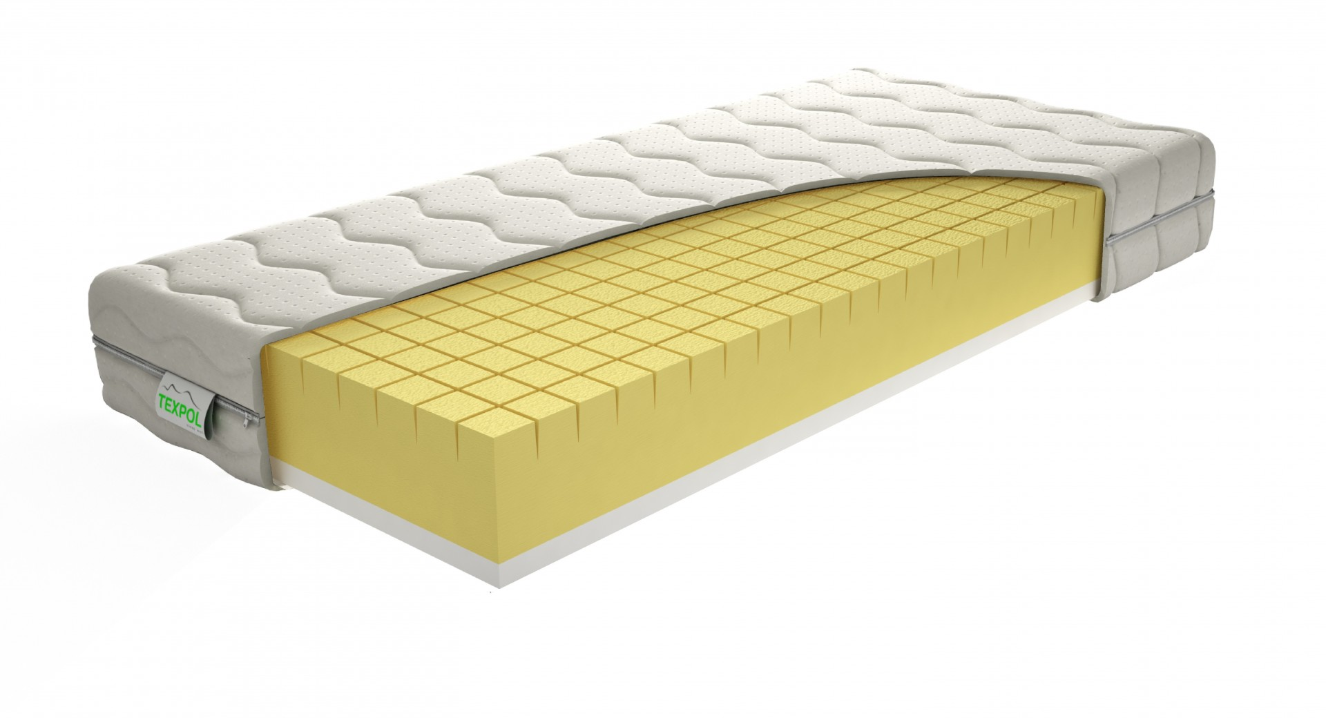 Levně TEXPOL MEDICO - kvalitní antidekubitní matrace s potahem Aloe Vera 90 x 210 cm