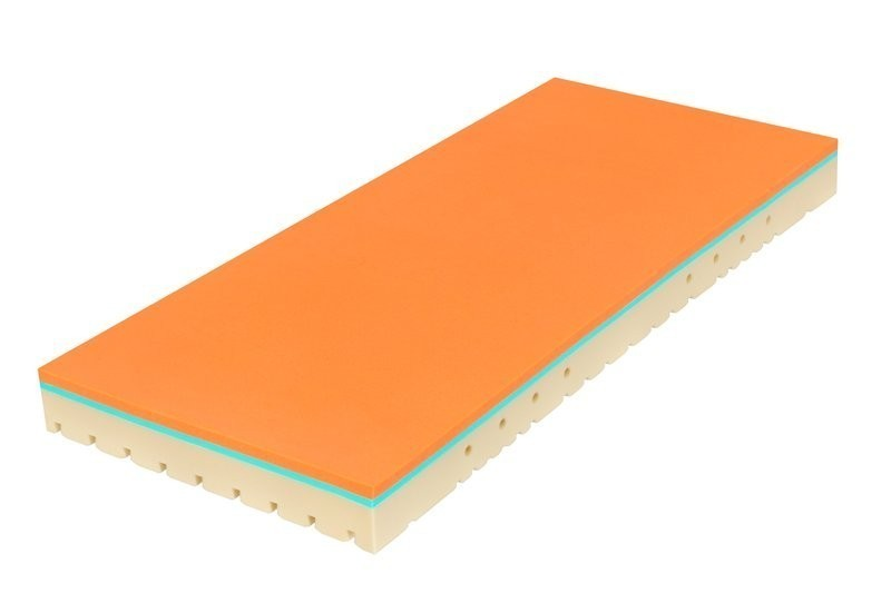 Tropico SUPER FOX VISCO Classic 22 cm - matrace s línou pěnou 140 x 220 cm, snímatelný potah