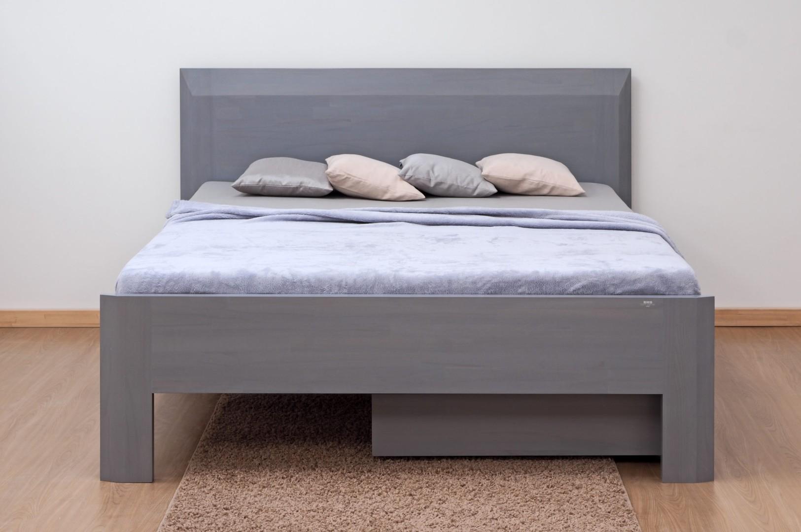 BMB ELLA FAMILY - masivní buková postel 160 x 210 cm, buk masiv