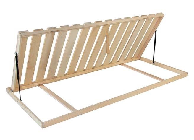 Levně Ahorn TERRUS KOMBI P - postelový rošt s bočním výklopem 110 x 220 cm