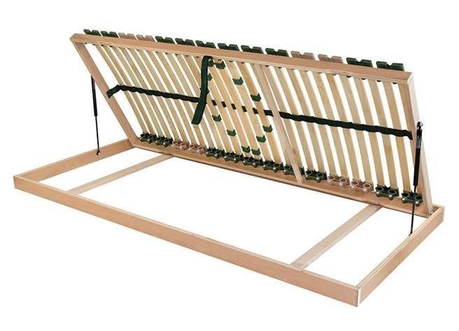 Levně Ahorn PORTOFLEX Kombi P PRAVÝ - výklopný lamelový rošt 80 x 195 cm