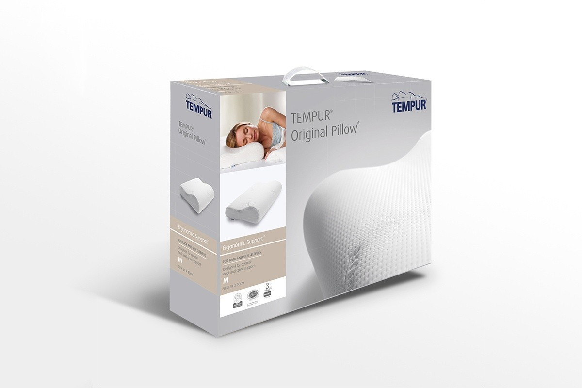 n hradn potah velikosti m na anatomick pol t tempur original dreamlux. Black Bedroom Furniture Sets. Home Design Ideas