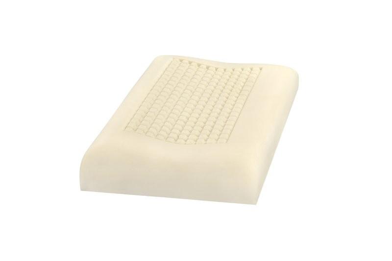 Curem Curem BELVEDER - polštář z vysoce kvalitní líné pěny s masážní profilací, paměťová pěna, snímatelný potah