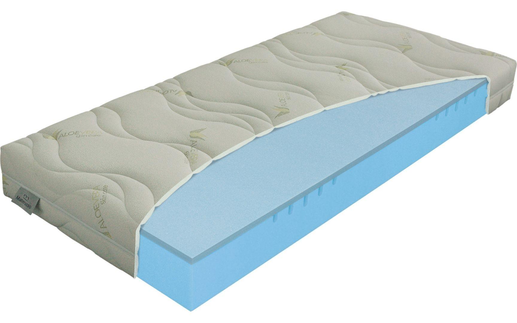 Materasso POLARGEL superior - jedinečná matrace s nosností až 190 kg 180 x 210 cm, snímatelný potah