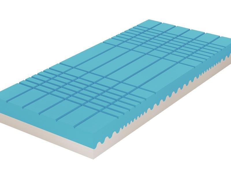 Tropico GUARD ANTIBACTERIAL - ortopedická zónová matrace 85 x 190 cm, snímatelný potah