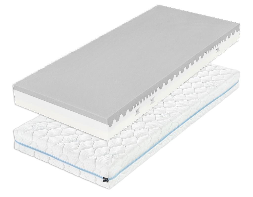 Tropico DÁŠA 18 cm - nelepená matrace s hybridní pěnou 90 x 200 cm, snímatelný potah