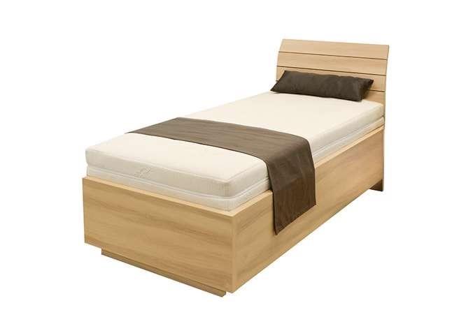 Levně Ahorn SALINA Basic - vznášející se jednolůžková postel 90 x 200 cm