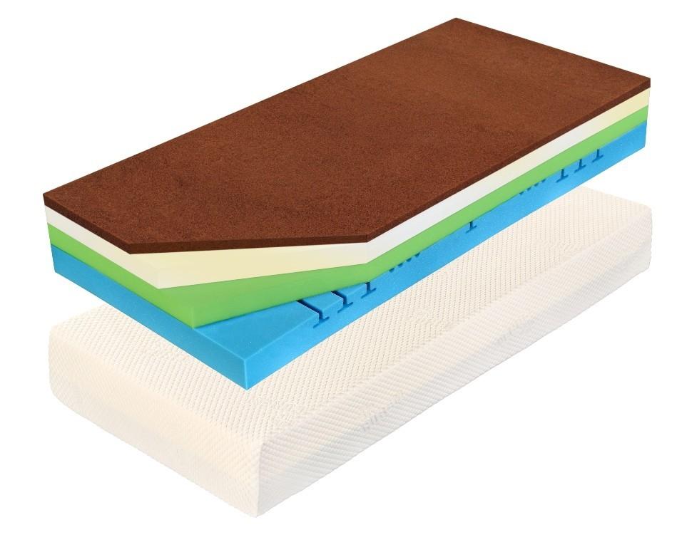 Curem CUREM C7000 XD 25 cm - matrace s extra pružností navíc 220 x 220 cm