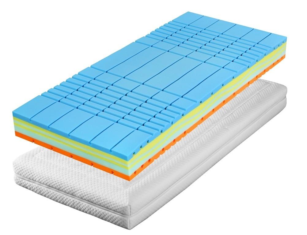 Slumberland TREVIS - matrace s dobrou termoregulací 85 x 190 cm, snímatelný potah