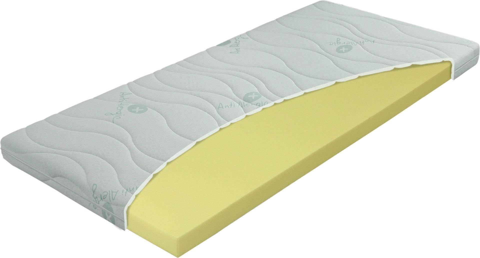 Materasso PŘISTÝLKA VISCO 8 cm - topper z líné pěny, snímatelný potah