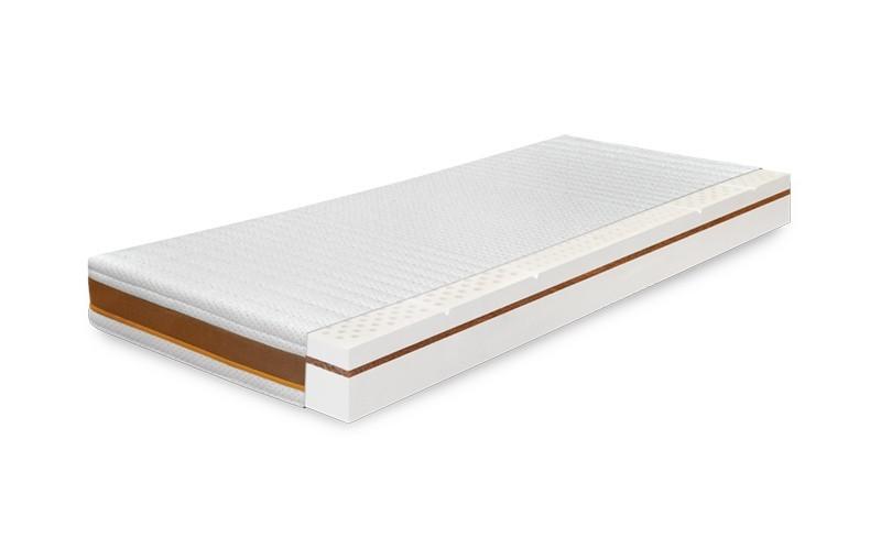 Levně Ahorn MEDI VITA PLUS 18 cm - oboustranná latexová matrace pro něho i pro ni 120 x 220 cm